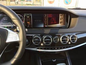 SmartTV Video-in-motion unlocker for Mercedes S-Class