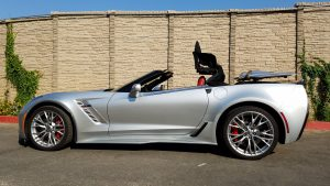 SmartTOP additional top control for Chevrolet Corvette C7 is