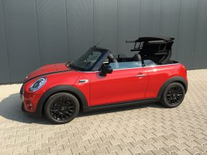 SmartTOP additional soft top control for Mini Convertible F57