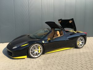 SmartTOP add-on soft top control for Ferrari 458 Spider
