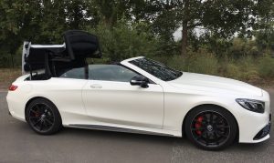 SmartTOP additional soft top control for the new Mercedes-Benz S-Class