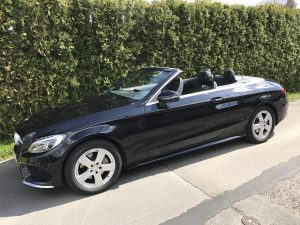 SmartTOP soft top control for Mercedes-Benz C-Class Cabriolet
