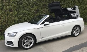 SmartTOP additional soft top control for the new Audi A5 Cabriolet