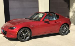 SmartTOP convertible top control for Mazda MX-5 RF