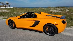 Mods4cars SmartTOP convertible top control for McLaren 12C Spider