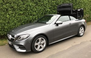SmartTOP convertible top control for Mercedes-Benz E-Class Cabriolet