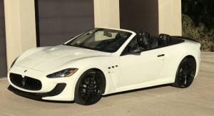 SmartTOP convertible top control for Maserati GranCabrio