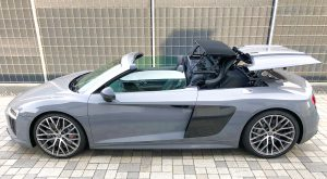 SmartTOP convertible top control for Audi R8 Spyder 4S