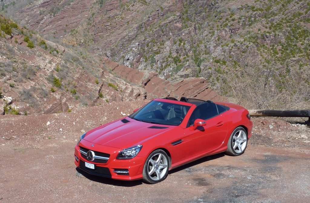 SmartTOP convertible top control for Mercedes-Benz SLK and SLC