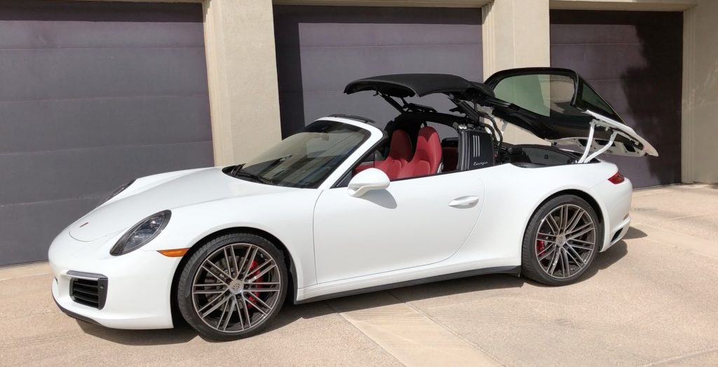 SmartTOP convertible top control for Porsche 911 Targa