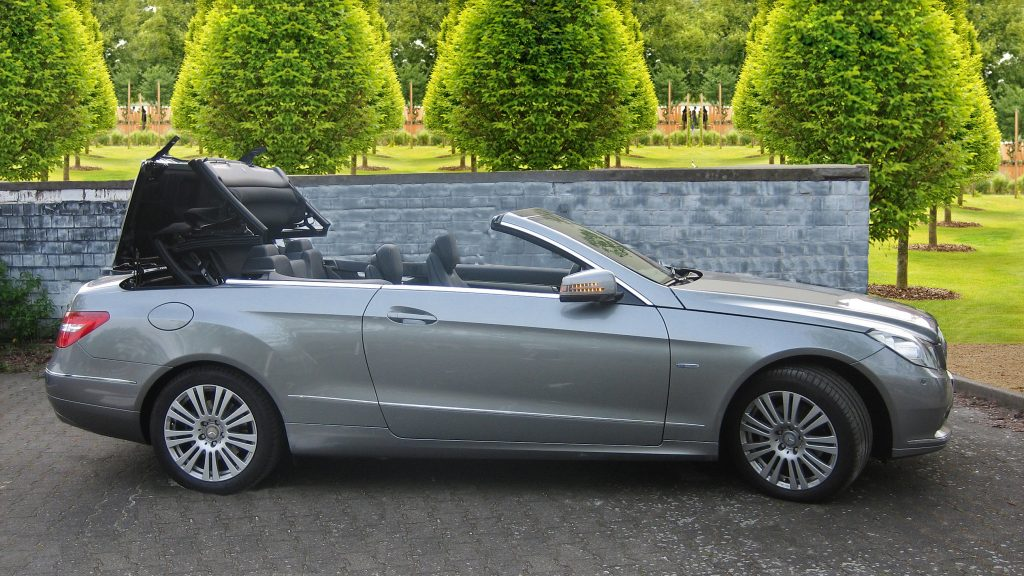 SmartTOP convertible top control for Mercedes-Benz E-Class