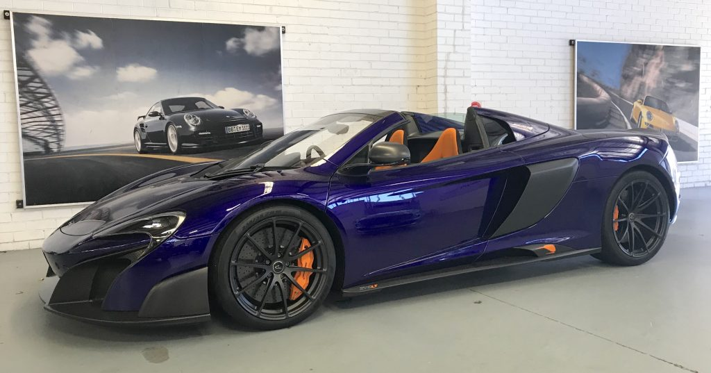 SmartTOP convertible top control for McLaren 675LT Spider