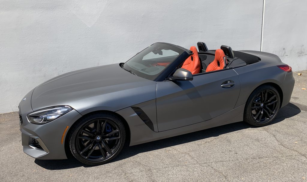 SmartTOP additional cabriolet top control for the new BMW Z4