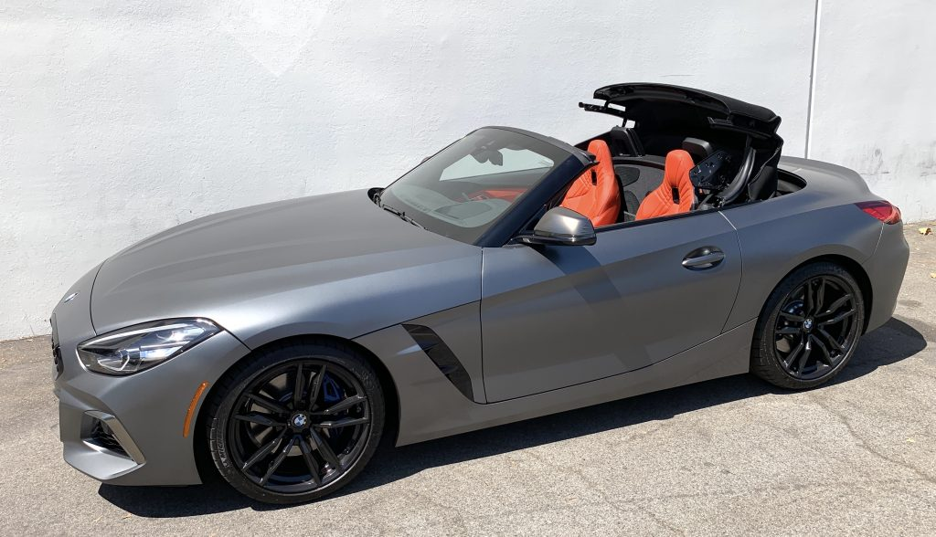 SmartTOP additional convertible top control for the new BMW Z4 Roadster