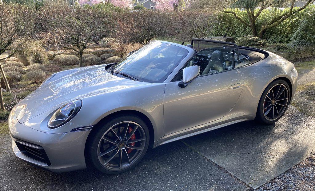 SmartTOP module for the new Porsche Carrera Convertible