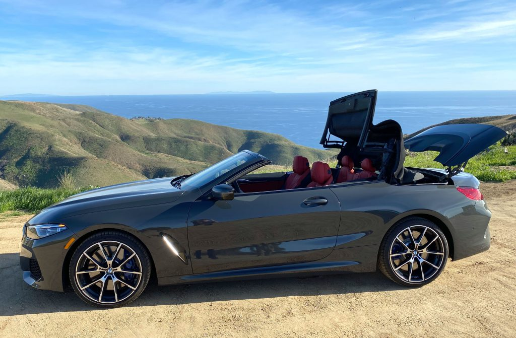 SmartTOP additional convertible top control for the new BMW 8 Series