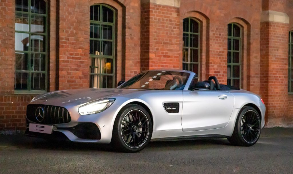 SmartTOP convertible top control for Mercedes-AMG GT Roadster