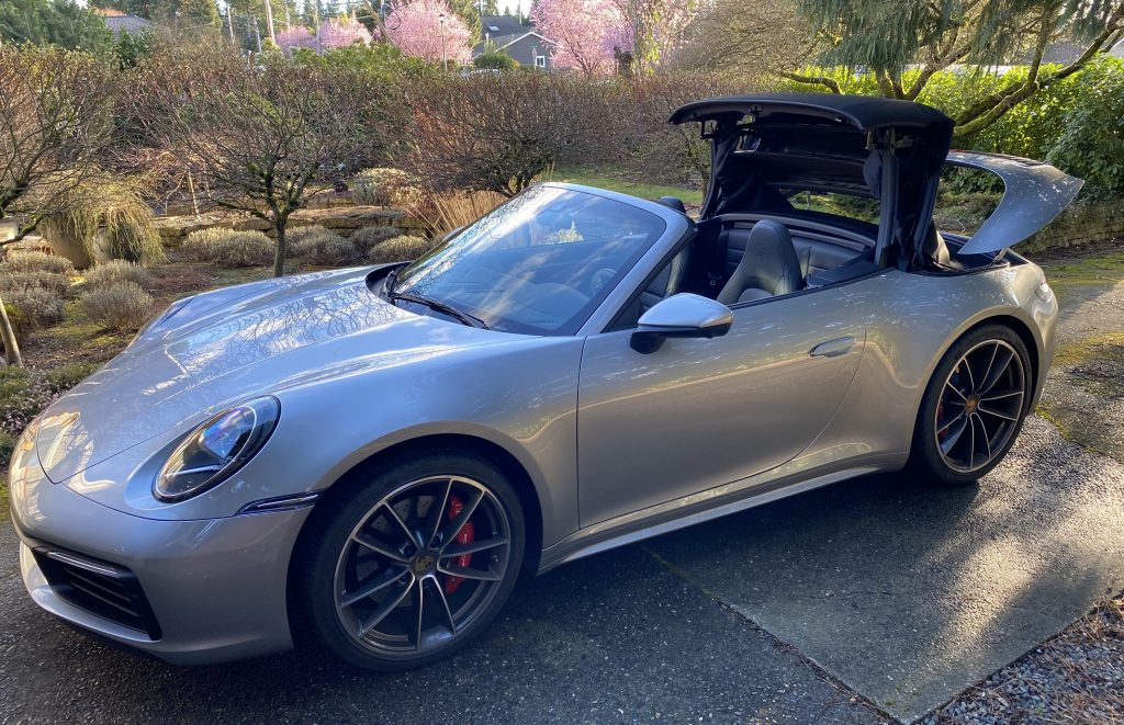 SmartTOP additional convertible top control for Porsche Carrera Cabriolet