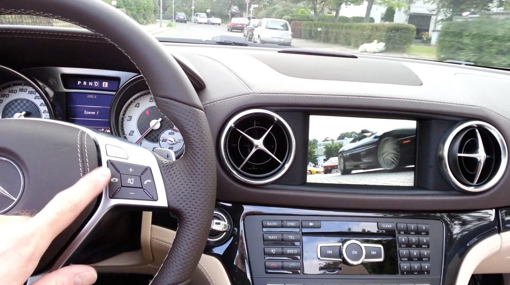 Video-in-motion unlocker SmartTV for Mercedes-Benz GLC and GLE