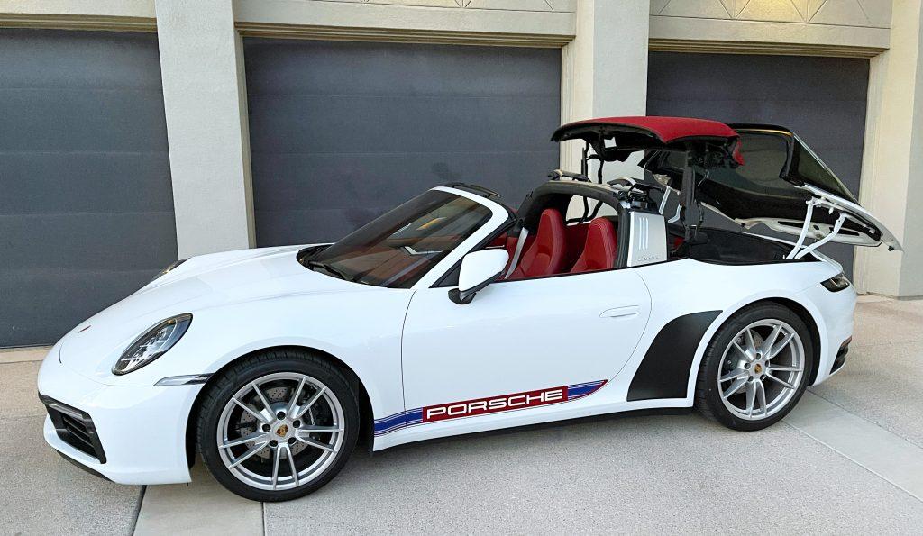 SmartTOP additional convertible top control for Porsche 911 Targa (992)