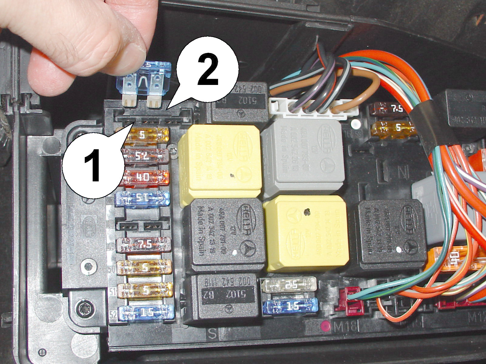 Mods4cars Product Manual Mercedes Cls500 Fuse Box Diagram This